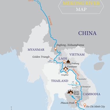 中国とメコン河をめぐる地政学