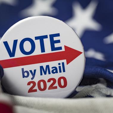 大統領選挙と郵便ポスト